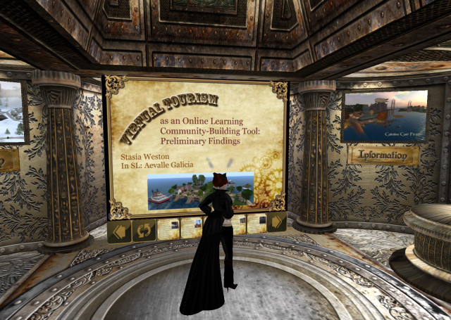 Virtual Tourism Presentation in Second Life for VWBPE '11