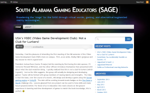 SAGE front page